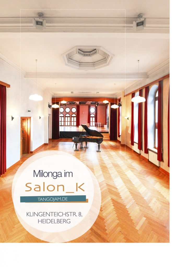 Sa, 6.10. Milonga im Salon_K