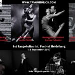 1st Tangoholics International Tango Festival 1.-3. September 2017